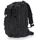 SILVER KNIGHT BACKPACK BLACK