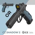 CZ 75 SHADOW 2 0R- 9mm - OPTIC READY