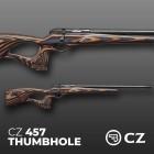 CZ RIFLE - 457 THUMBHOLE - 22LR