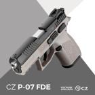 CZ P-07 FDE 9mm