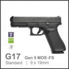 GLOCK 17 GEN5 - MOS + FS + SILENCER