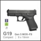 GLOCK 19 Gen5 - MOS-FS - 9mm