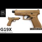 GLOCK 19X SILC - COYOTE(FDE)