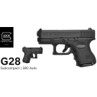 GLOCK 28 Gen3 - .380ACP(9mm SHORT)