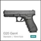 GLOCK 20 Gen4 - 10mm AUTO