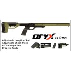 ORYX TIKKA T3 - SHORT ACTION -  RIGHT HAND CHASSIS - GREEN