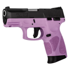 TAURUS G2C - 9mm - LIGHT PURPLE & BLACK - 12Rounds + 2 Magazines