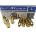 STV 9mm FMJ 124gr AMMUNITION NEW 50 PER BOX