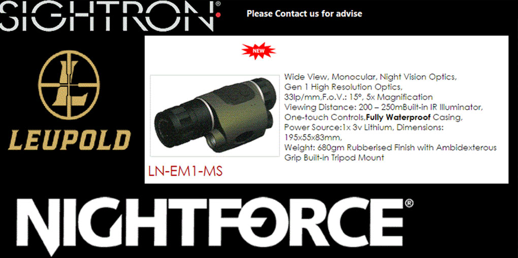 Sightron Nightforce